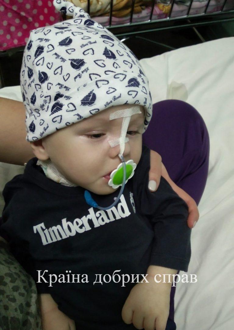 Єгор Попович. Внутрішня гіпертензивна гідроцефалія та ретинопатія