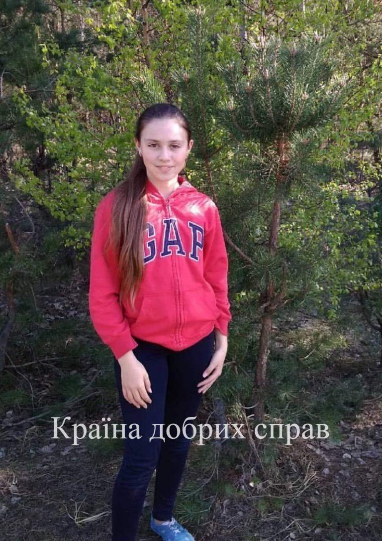 Віка Жеребченко. Інсульт